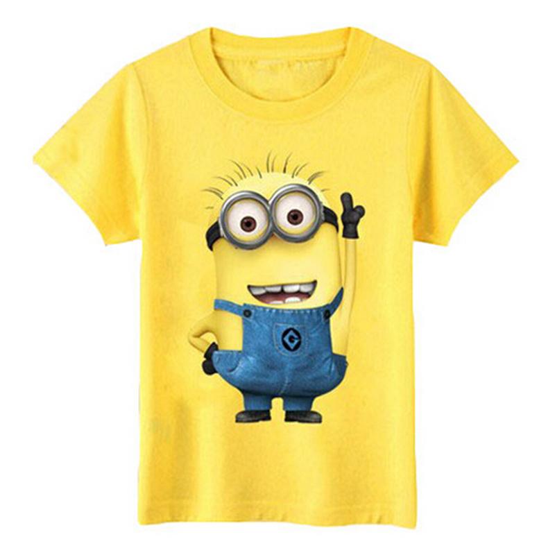 weonedream Жёлтый цвет 6T рубашки футболки для детей
