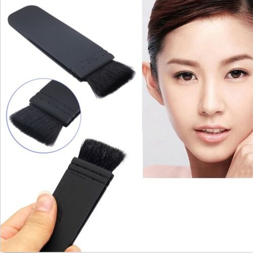 MyMei mymei new professional flat contour blusher kabuki blush brush makeup cosmetics tools
