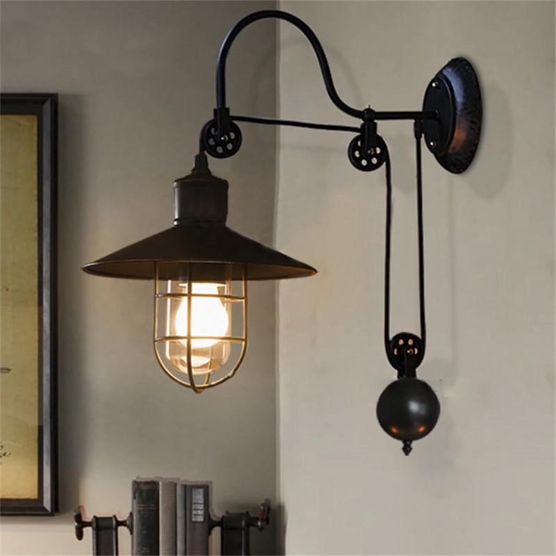 Настенный светильник настенный светильник настенный светильник BAYCHEER Чёрный цвет фото