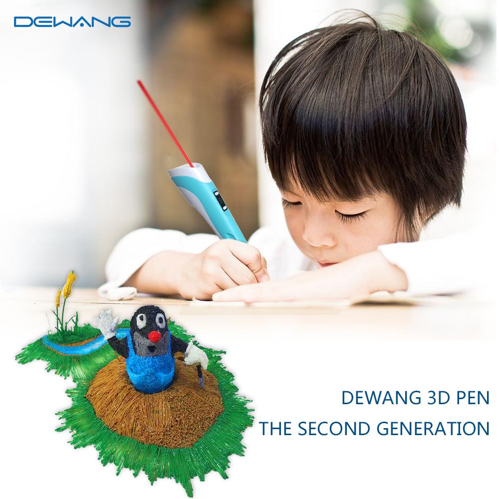 DEWANG Синий цвет 3D Ручка RP-100B
