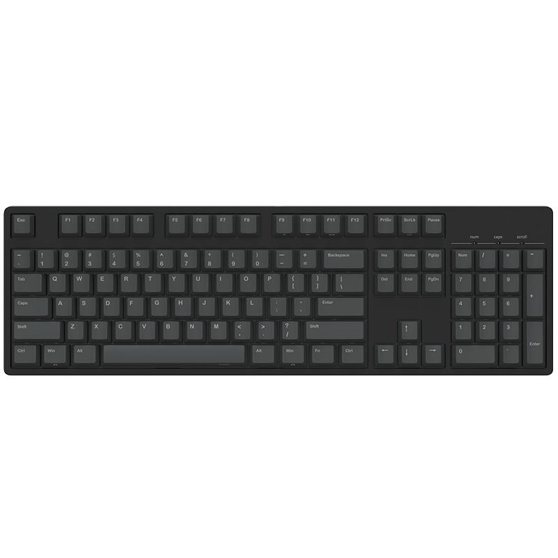JD Коллекция Чёрный чёрный ось carbon 125 key pbt keycap dye sublimated korean typeface cherry mx switch keycap for mechanical gaming keyboard