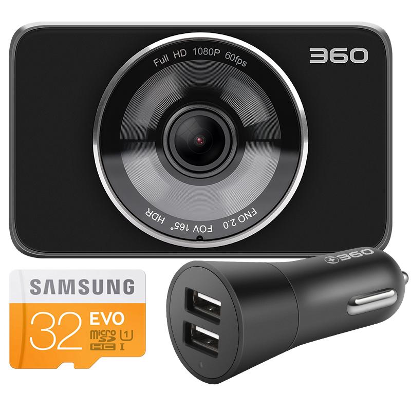 360 DVR Black с картой 32G TF