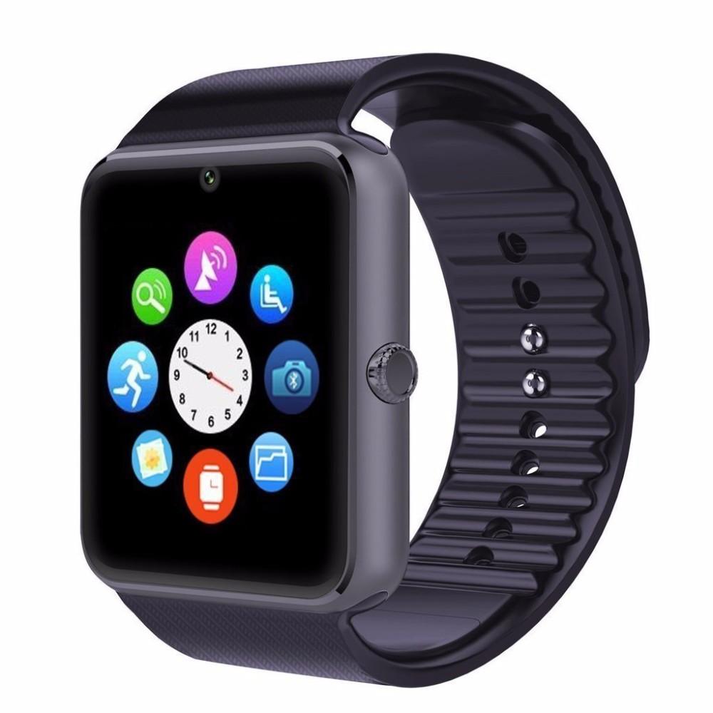 Uwatch Чёрный цвет элегантность умные часы bluetooth умные часы хороший подарок для друга мама папа сестра брат