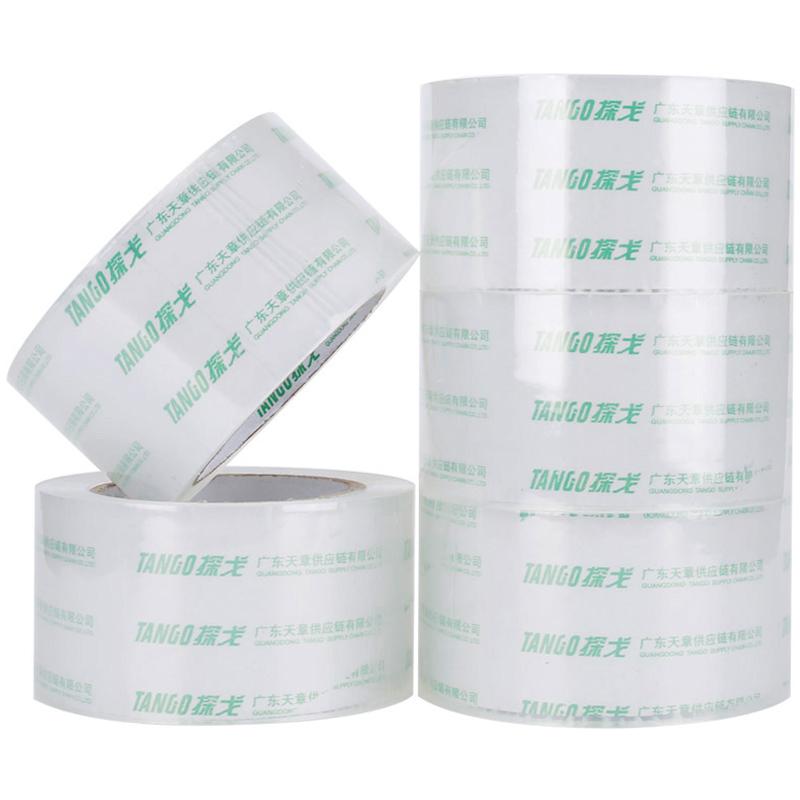 JD Коллекция 60мм 100y-5 Объем дефолт танго tango высокое качество очень прозрачная уплотнительная лента упаковочная лента 60мм 100y 91 4 метров глава 5 дней пакет производится