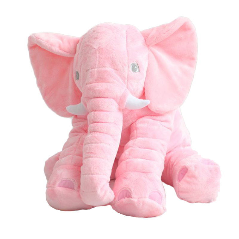 MyMei Розовый цвет fulljion baby stuffed plush animals elephant toys for children kawaii dolls infant sleeping back cushion stuffed pillow gifts