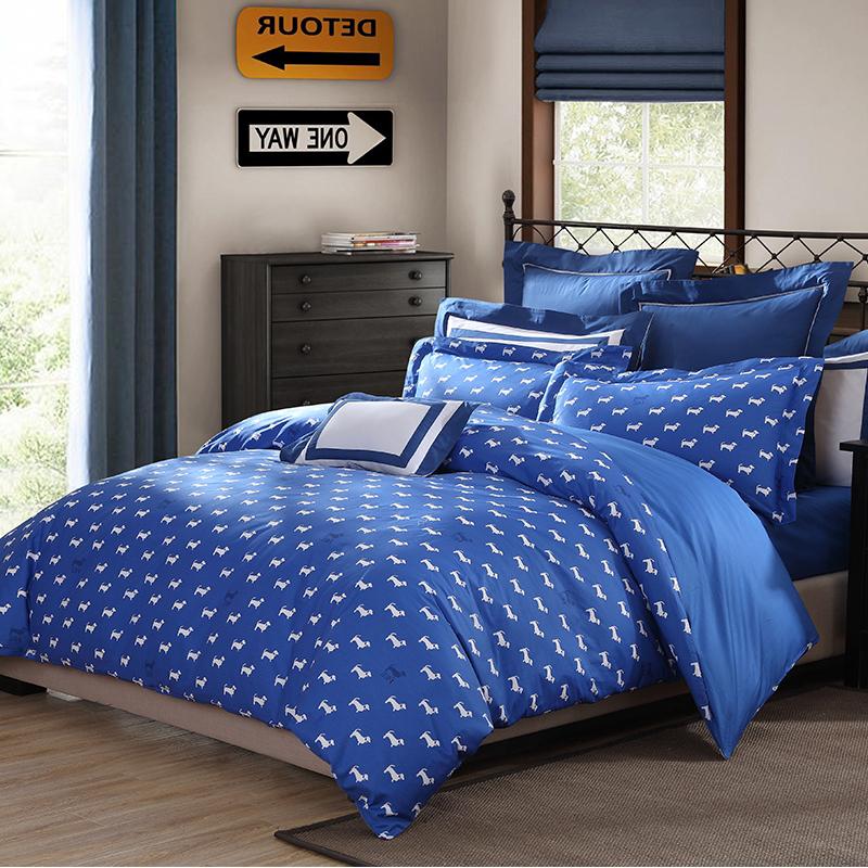 JD Коллекция собака синий Кровать 15 м 200 230cm