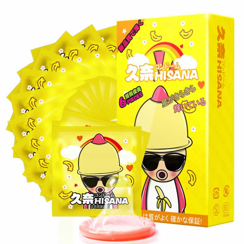 JD Коллекция hisana мужской светящий презерватив 6 шт