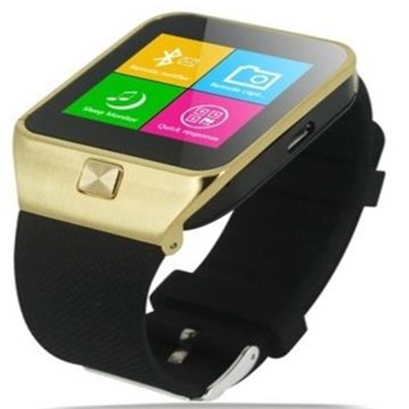 Uwatch Золотой цвет элегантность умные часы bluetooth умные часы хороший подарок для друга мама папа сестра брат