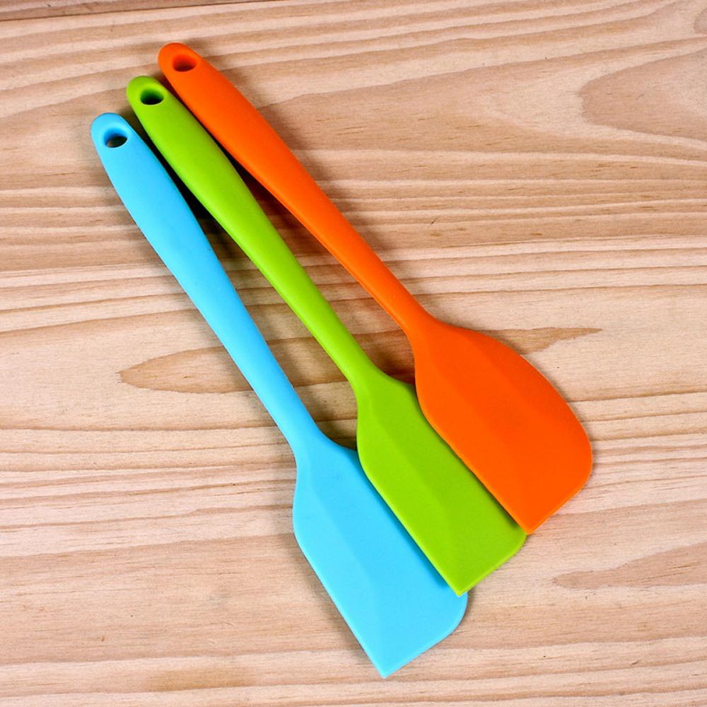 Выпечка инструмент силиконовый рукоятка для скреперов скребок крем скребковый BangLong фото