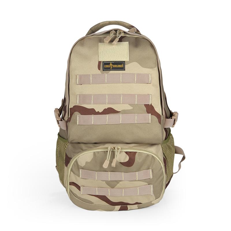 FREE SOLDIER Трехцветный песочный камуфляж