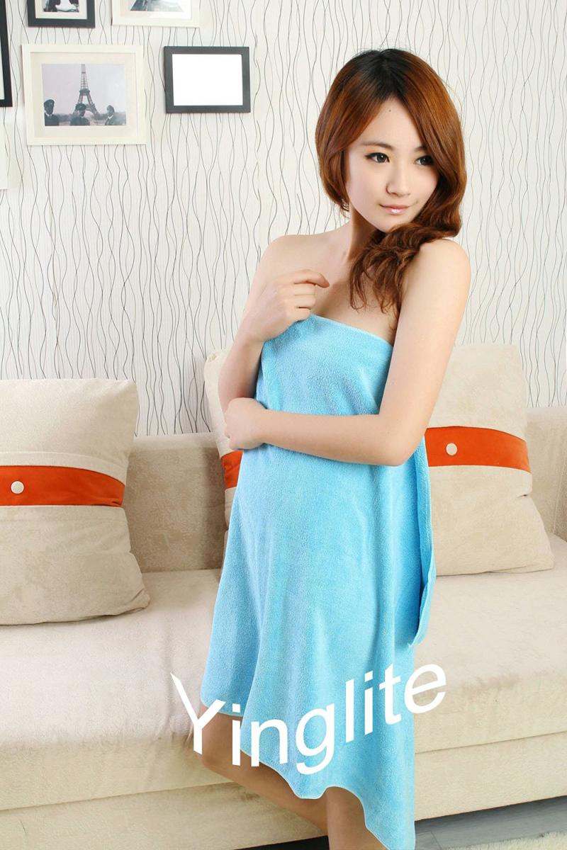 yinglite Чистый синий халаты банные lelio халат