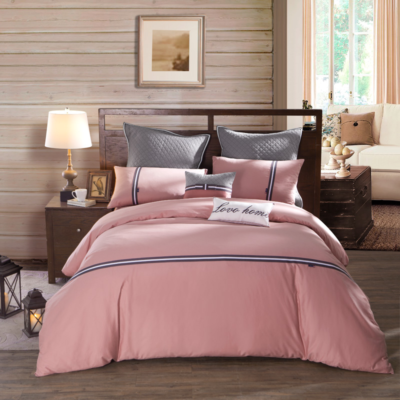 JD Коллекция время 15m кровать 200230cm mercury постельные принадлежности набор 4 штуки простыня с набивной чехол на одеяло 100