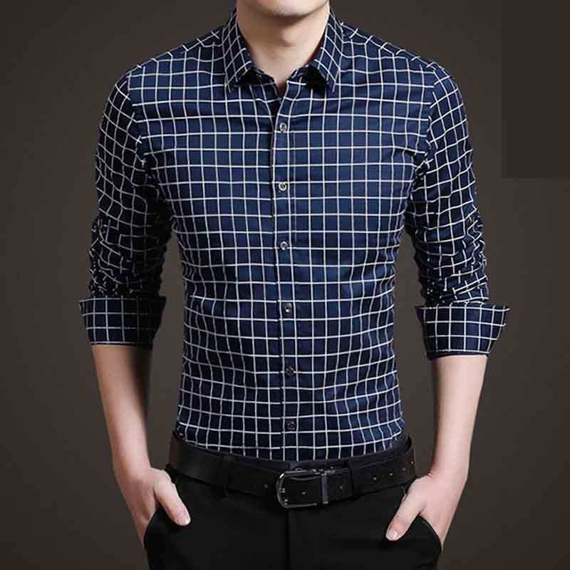 SRLD Тёмный синий цвет Номер 5XL рубашки