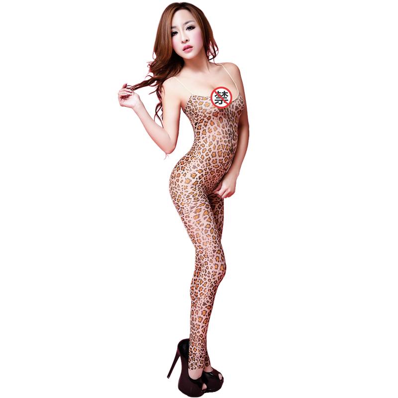 JD Коллекция сша клодель meimier желание женского леопарда сексуальный леопарда трико соблазнов сексуальное женское белье