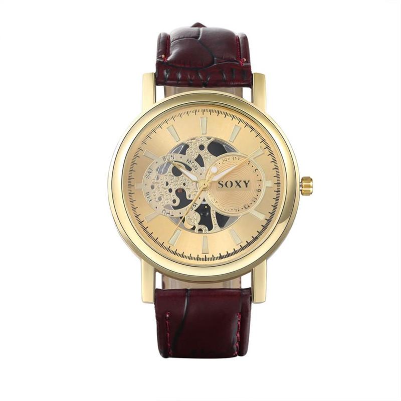 Dachma Золотой циферблат wh0039a модная серия наручные часы