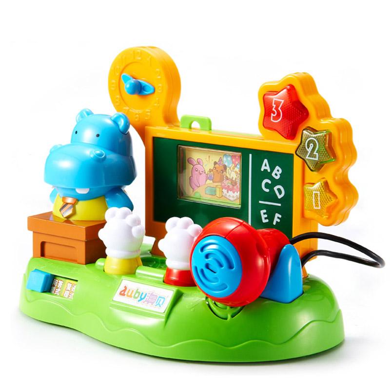JD Коллекция граммофон типа бегемота оуба auby головоломка игрушечная ферма роллинг бейль сканирование детское детство раннее детство просвещение 463310ds