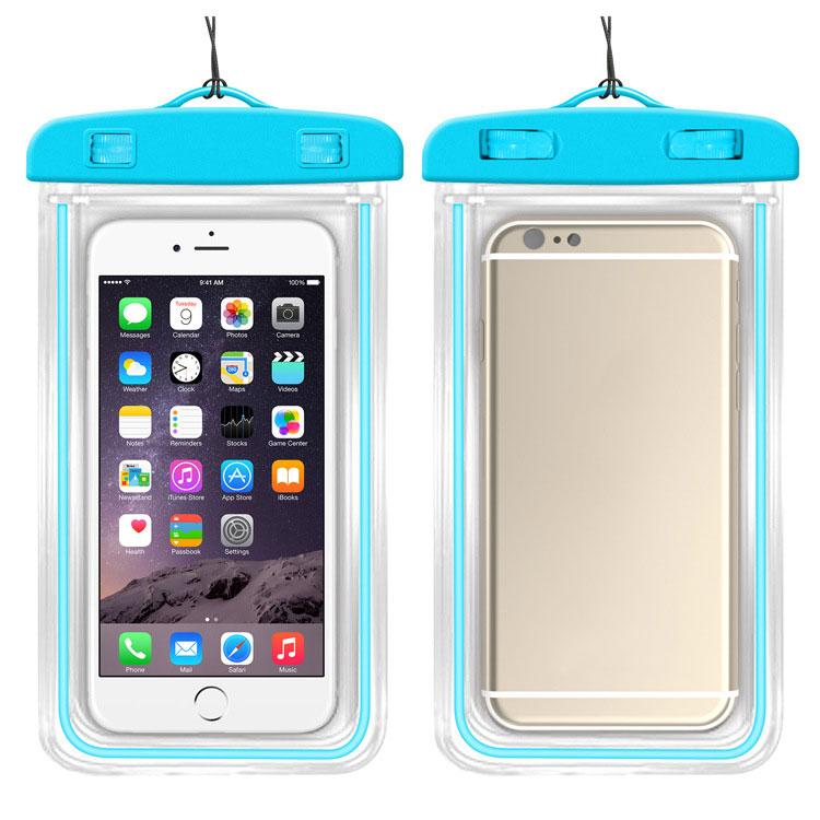 MyMei Синий цвет mymei outdoor iphone 6 samsung galaxy phone waterproof case cover dry pouch 20 10 8cm