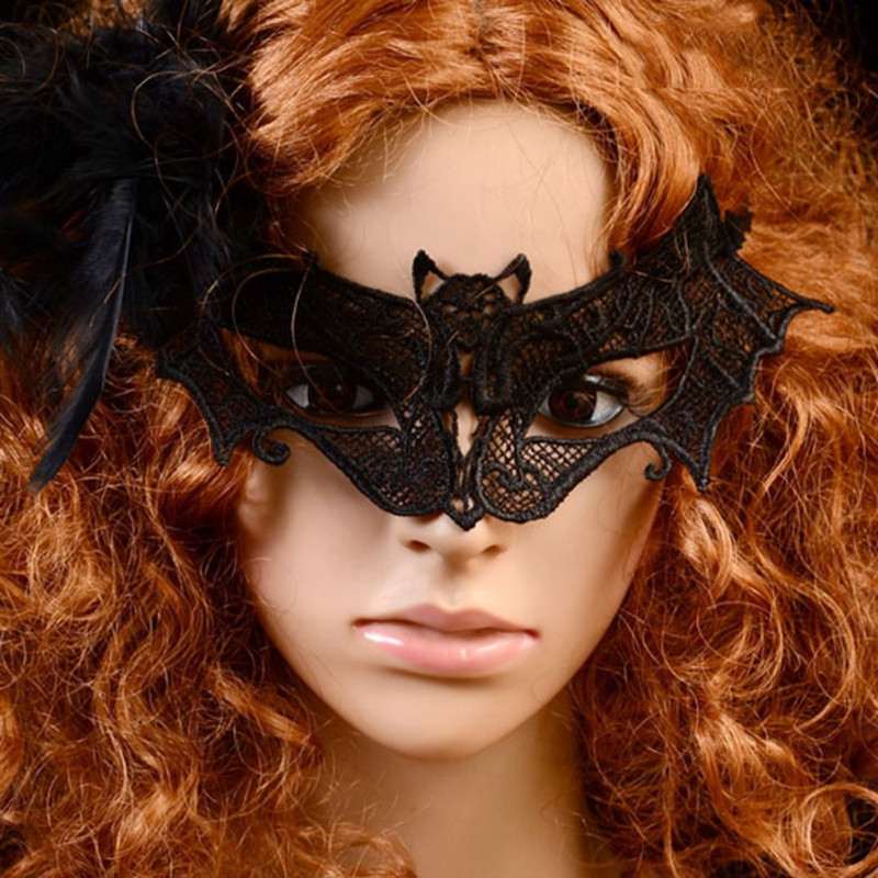 MyMei Оранжевый цвет yeduo black sexy lady lace mask for masquerade halloween party fancy dress costume