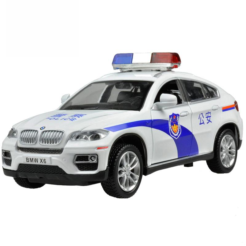 JD Коллекция BMW X6 полицейский автомобиль дефолт joycollection