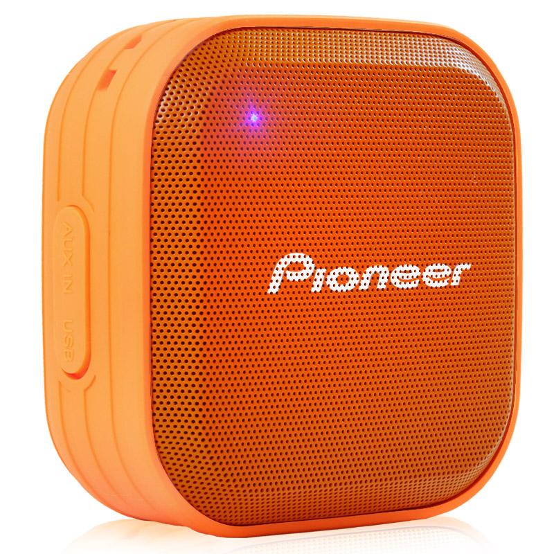 Pioneer Оранжевый водонепроницаемый портативный стерео звук динамик bluetooth pioneer pioneer momo может впитывать большой синий