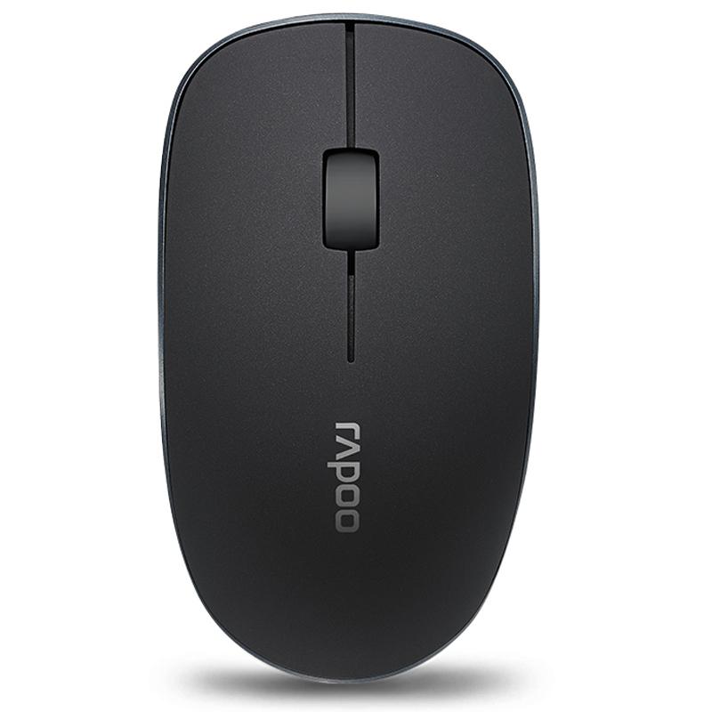 Rapoo Черный Беспроводная rapoo черный v500 сплава матовой версия ключа 87