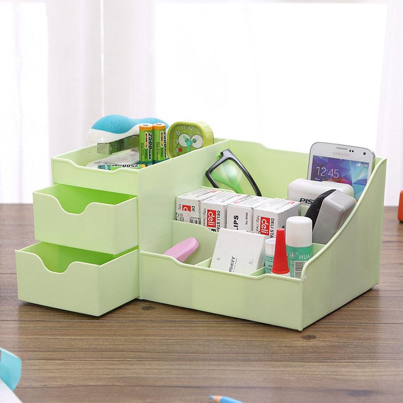 JD Коллекция зеленый дефолт edo косметика ящик для хранения ящик для хранения пластиковых шкафов для хранения ящик для хранения тетрадей th1158 blue