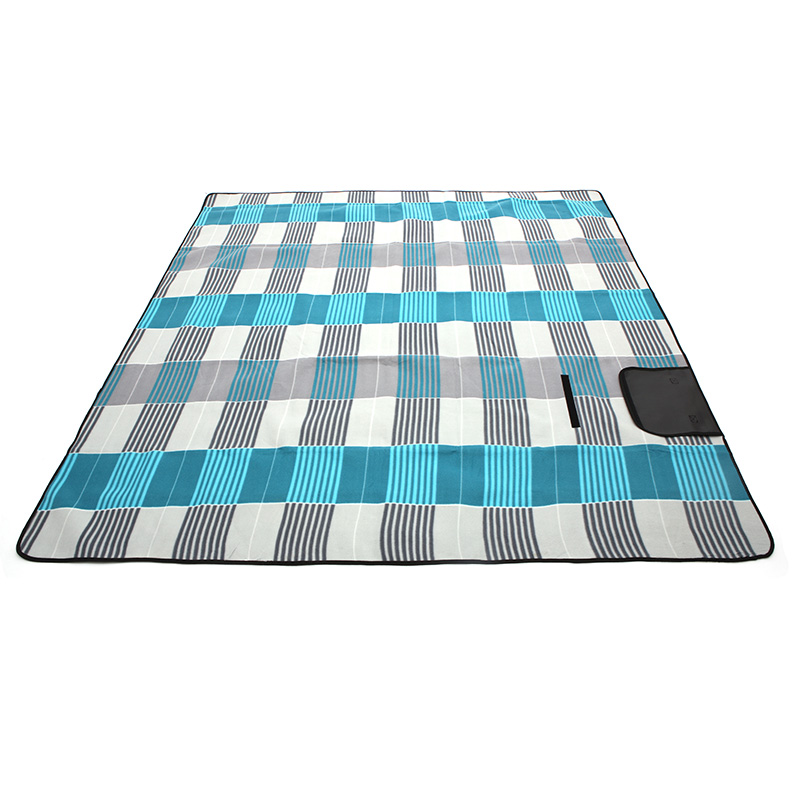 JD Коллекция Серый синий 2M 2M коврик для пикника