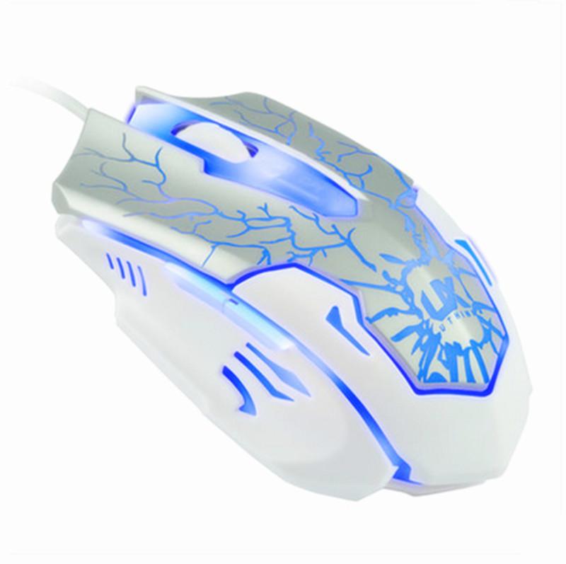 RAJFOO Слоновая кость компьютерная мышь e blue cobra ems108wh white usb