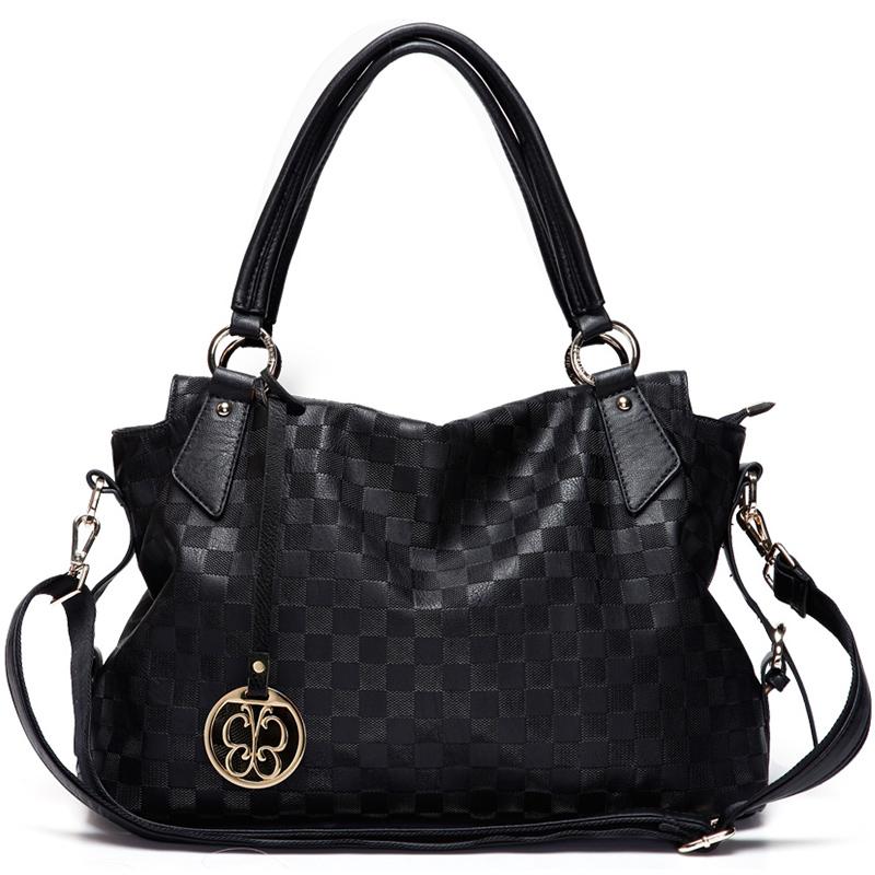 JD Коллекция Новый элегантный черный дефолт marino женщина lingge цепи плечо сумка пакет милая леди элегантный черный