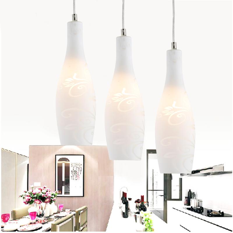 JD Коллекция nvc nvc кулон люстра творческой личности led ресторан современный романтическая еда висит освещение eud9002