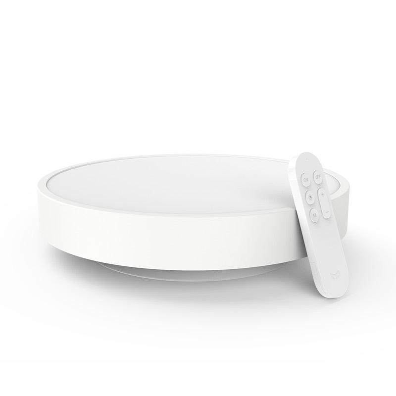 JD Коллекция потолочная лампа Bluetooth телеуправляемый инструмент дефолт mi yeelight интеллектуальная лампа 9w e27 винтовая основа энергосберегающее беспроводное управление wifi