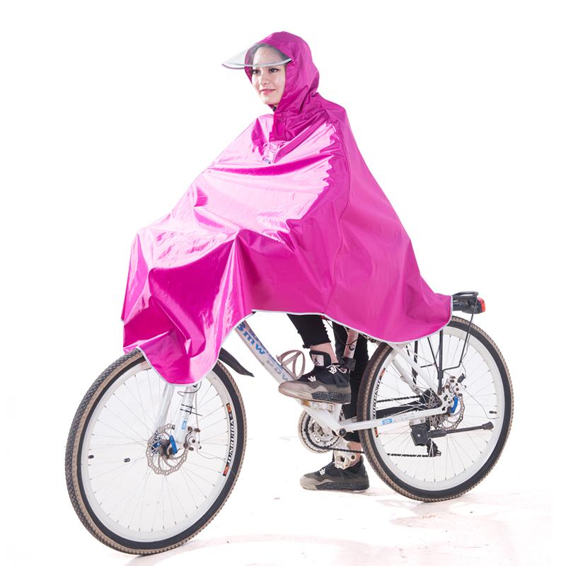JD Коллекция Rose Red 3XL kendo открытый верховая езда взрослый велосипед плащ мужской и женский одиночный пончо увеличить утолщение z 1 темно синий 3xl