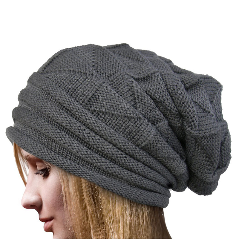 MyMei Серый the new 2015 autumn winter cap hat knitted hats for men and women tide restoring ancient ways cap