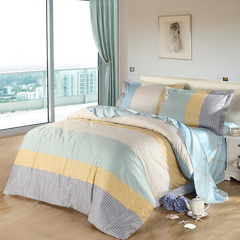 JD Коллекция воображение 18 м кровать 220 240см mercury постельные принадлежности набор 4 штуки простыня с набивной чехол на одеяло 100