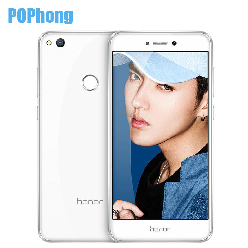HUAWEI Белый сотовый телефон huawei honor 8 lite 4 32gb blue