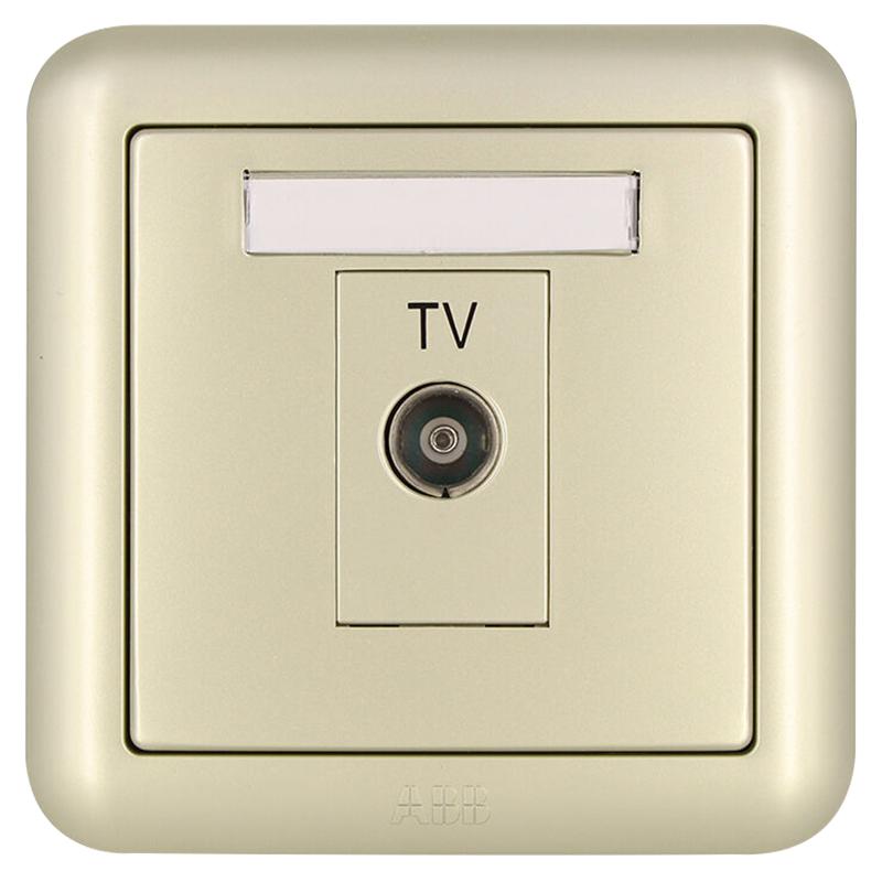 JD Коллекция выход для ТВ дефолт полет eagle feidiao переключатель гнездо панели cctv розетка кабельная розетка tv розетка 86 типа phantom жемчужно белый