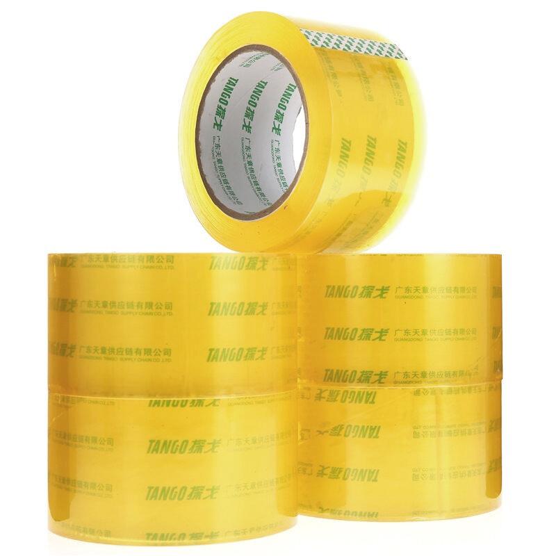 JD Коллекция 48мм 100Y-6 томов дефолт танго tango высокое качество очень прозрачная уплотнительная лента упаковочная лента 60мм 100y 91 4 метров глава 5 дней пакет производится