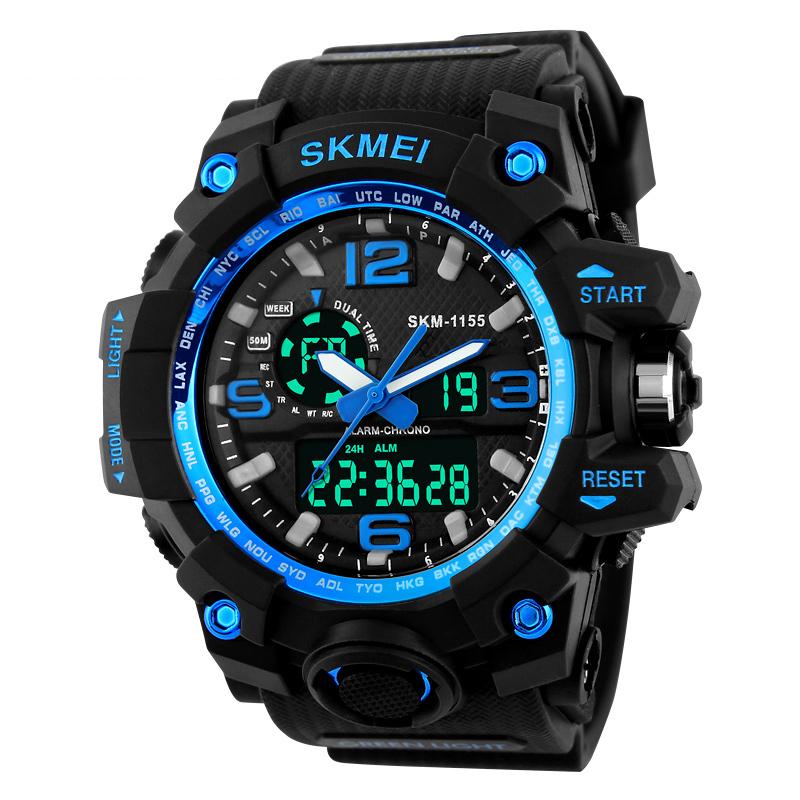JD Коллекция 1155 Синий часы skmei мужские 1155