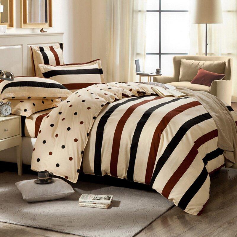 JD Коллекция красные-синие-белые полоски 12 м кровать 150 200см платье текстильное