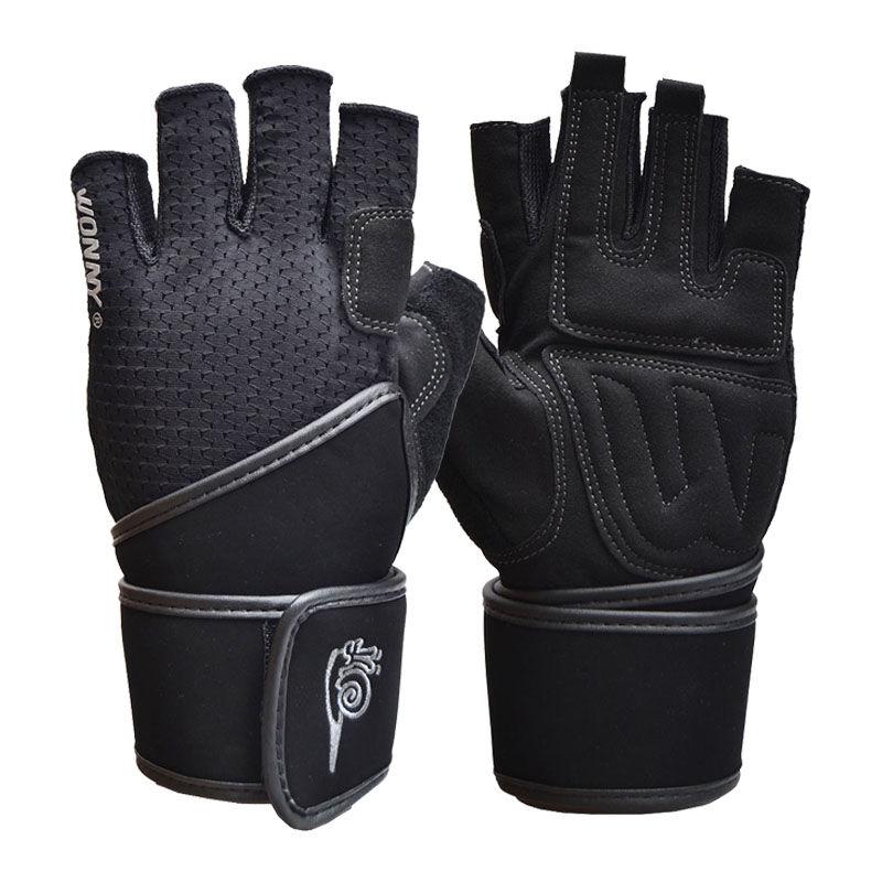 JD Коллекция черный M улитка wonny js 013 фитнес перчатки половины пальцев перчатки скольжения мужские и женские фитнес оборудование перчатки черный xl