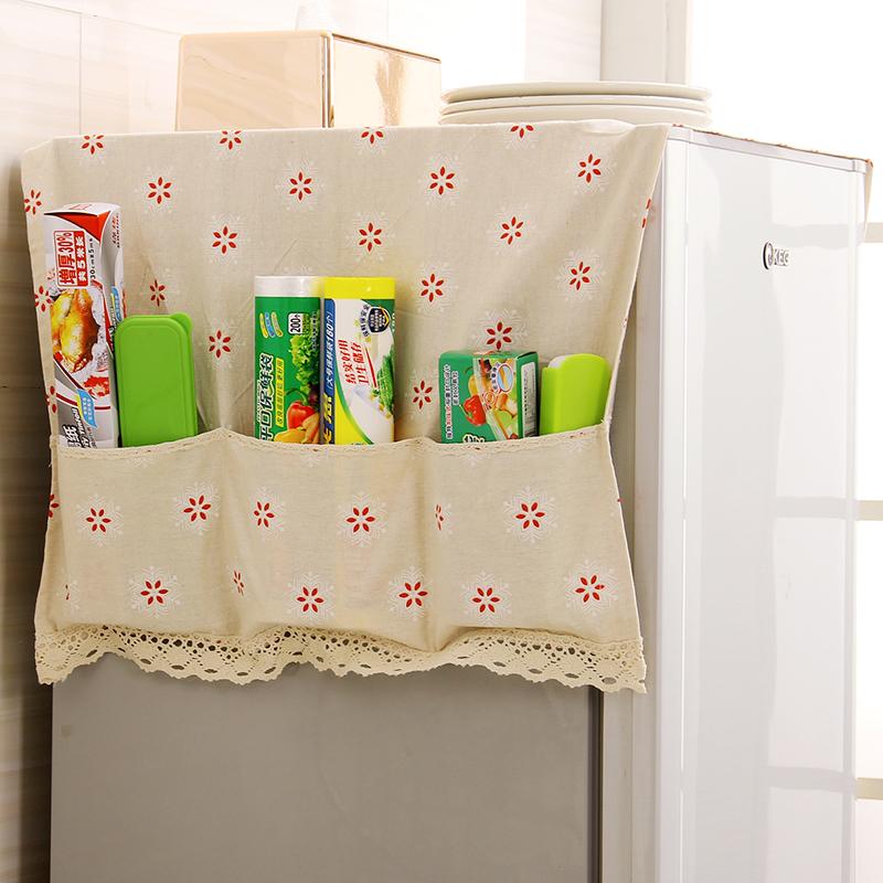 JD Коллекция 3 сетки хлопок мешок дефолт star print refrigerator dust cover