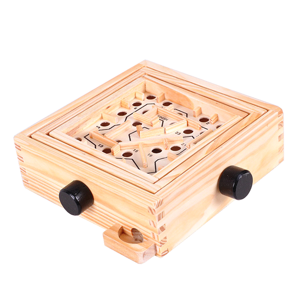MyMei wooden labyrinth puzzle maze