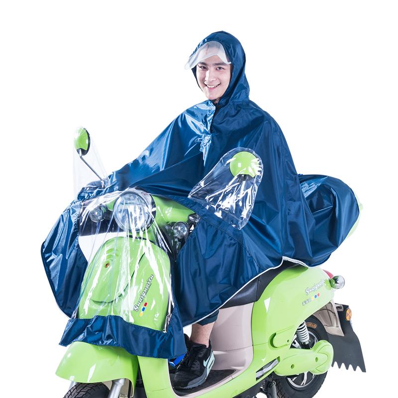 JD Коллекция темно-синий [супермаркет] рай зонтик дважды jingdong увеличить больше мотоцикл пончо плащ оксфорд светящаяся полоса размер navy j231