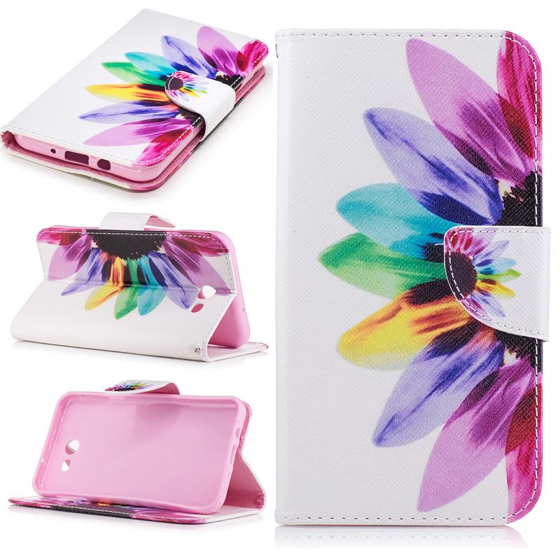 GANGXUN розовый дизайн кожа pu откидная крышка бумажника карты держатель чехол для samsung galaxy j7 2016 j710
