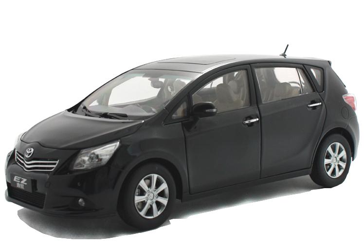 Paudi масштаб 1 18 toyota crown 2015 diecast модель автомобиля черный