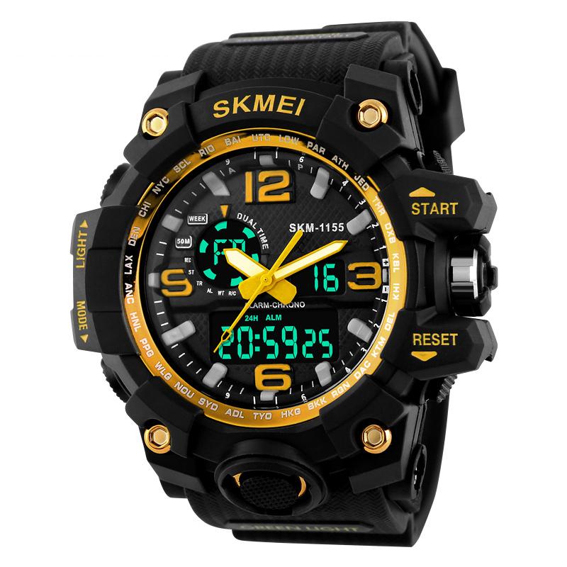 JD Коллекция 1155 Золотистый часы skmei мужские 1155