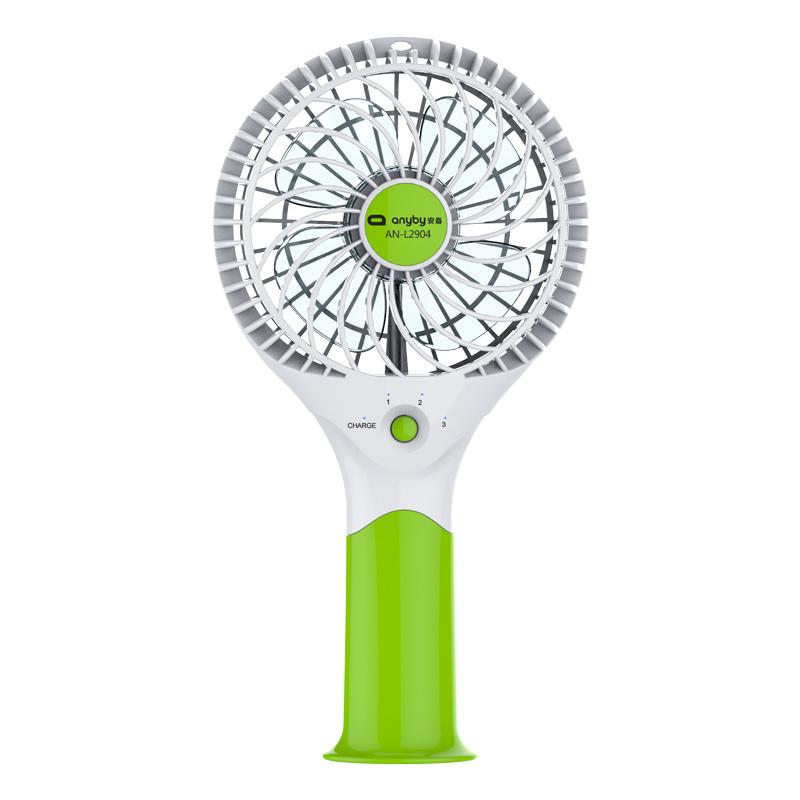 JD Коллекция Литий небольшой ручной зеленый вентилятор дефолт вентилятор hausmark
