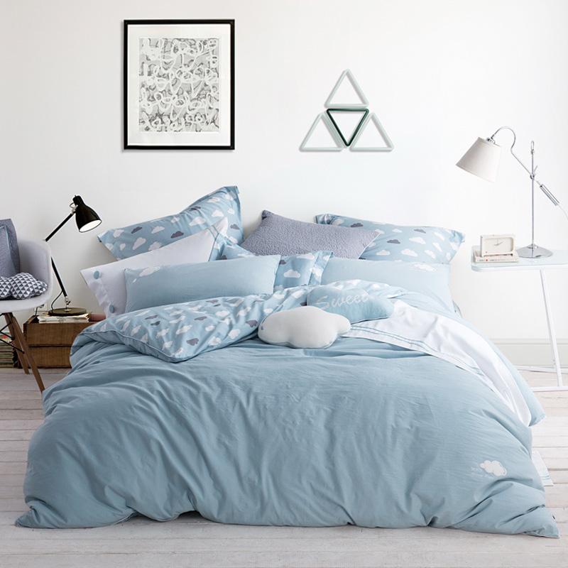 JD Коллекция Terris Кровать 15 м 200 230cm mercury постельные принадлежности набор 4 штуки простыня с набивной чехол на одеяло 100