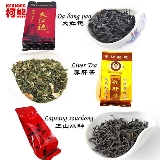 C-WL056 Pаскрутка 12 мешков Organic Chinese Различные флейворы Чай черный чай Lapsan HelloYoung 50г фото