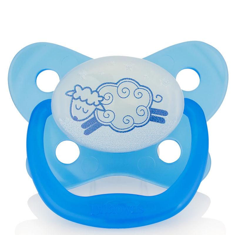 JD Коллекция Glow-формы 0-6 месяцев - синий дефолт drbrown s baby picifier с бабочкой 6 12 месяцев красный pv213 оригинальный импорт в сша